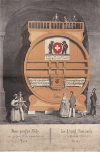 Fass Zeughauskeller 1862